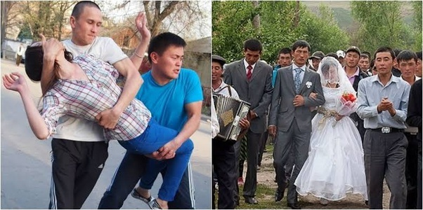The bride kidnapping culture in Kyrgyzstan